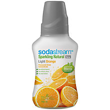 Buy SodaStream Light Orange Mix with Stevia, 0.75L Online at johnlewis.com