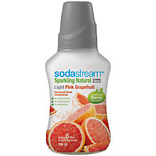 Buy SodaStream Light Pink Grapefruit Mix with Stevia, 0.75L Online at johnlewis.com