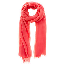 Buy Coast Scarf, Coral Online at johnlewis.com