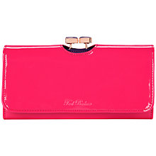 Buy Ted Baker Lidia Enamel Bow Matinee Purse Online at johnlewis.com