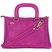 Buy Ted Baker Hickory Stab Stitch Tote Handbag Online at johnlewis.com