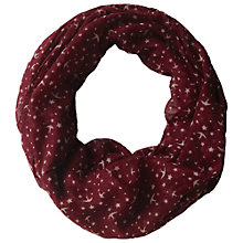 Buy Fat Face Star And Bird Snood Online at johnlewis.com