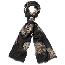 Buy Fat Face Graphic Floral Scarf Online at johnlewis.com