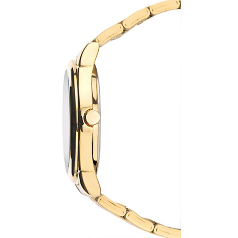 Buy Sekonda 3450.27 Men's Gold Plated Day Date Bracelet Strap Watch, Gold/Silver Online at johnlewis.com