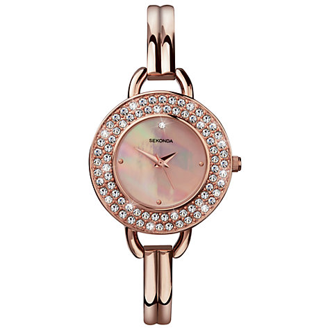 Buy Sekonda Women's Crystalla Bracelet Watch Online at johnlewis.com