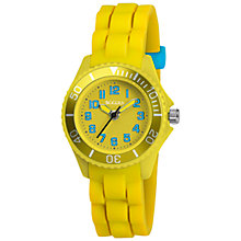 Buy Tikkers TK0061 Children's Watch, Yellow / Blue Online at johnlewis.com