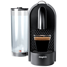 Buy Nespresso U Coffee Machine by Magimix, Matt Grey Online at johnlewis.com