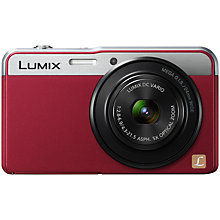 "Buy Panasonic Lumix DMC-XS3 Camera, HD 1080p, 14.1MP, 5x Optical Zoom, 2.7"" LCD Screen Online at johnlewis.com"