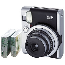 Buy Fujifilm Instax Mini 90 Neo Classic Instant Analogue Camera with Instax Mini Film, 20 Shots Online at johnlewis.com