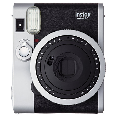 Buy Fujifilm Instax Mini 90 Neo Classic Instant Analogue Camera Online at johnlewis.com
