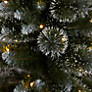 Buy John Lewis Pre-lit LED Glitter Tip Christmas Tree, Green, 5ft Online at johnlewis.com