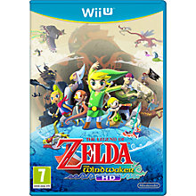 Buy The Legend of Zelda: The Windwaker HD, Wii U Online at johnlewis.com