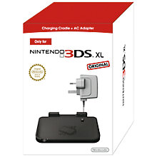 Buy Nintendo 3DS XL Charging Cradle and AC Adapter Online at johnlewis.com
