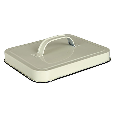 Buy Fallen Fruits Enamel Seed Box, Cream Online at johnlewis.com