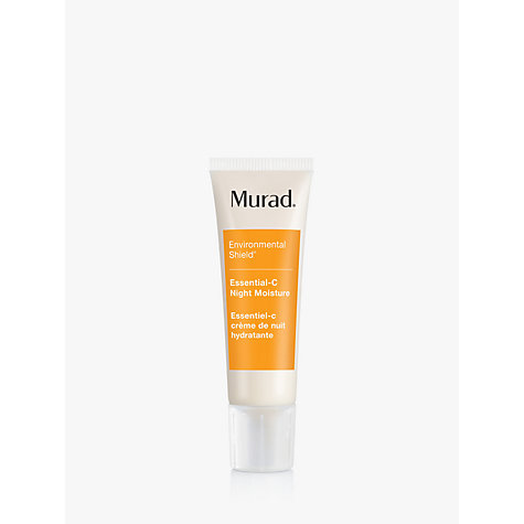 Buy Murad Essential-C Night Moisture Environmental Shield, 50ml Online at johnlewis.com
