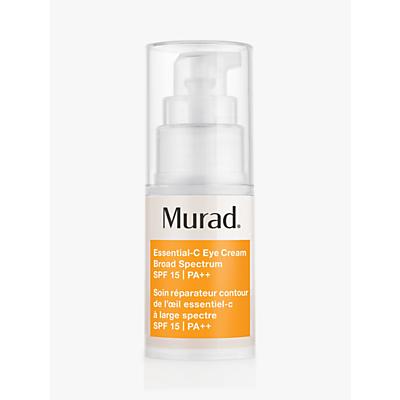 shop for Murad Essential-C Eye Cream Broad Spectrum SPF 15 PA++, 15ml at Shopo