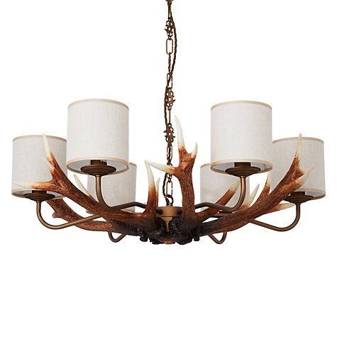Buy David Hunt Antler Multi-arm Ceiling Light, 6 Arm Online at johnlewis.com