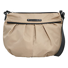 Buy Mango Pleated Shoulder Bag Online at johnlewis.com
