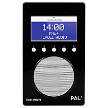 Buy Tivoli Audio PAL+ DAB/FM Portable Radio Online at johnlewis.com