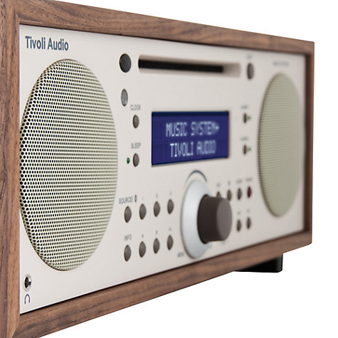 Buy Tivoli Audio Music System+ DAB/FM/CD Bluetooth Micro System Online at johnlewis.com