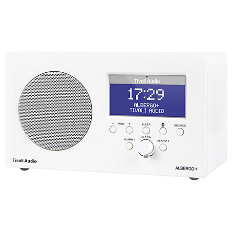 Buy Tivoli Audio Albergo Bluetooth DAB/FM Digital Clock Radio Online at johnlewis.com
