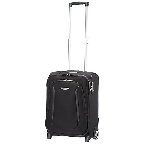 Buy Samsonite X'Blade 2-Wheel 50cm Cabin Suitcase, Black Online at johnlewis.com