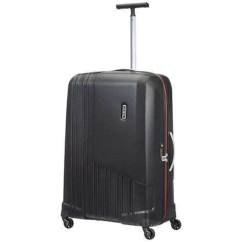 Buy Samsonite X-Pertiz Spinner Large 4 Wheel Suitcase, Black Online at johnlewis.com