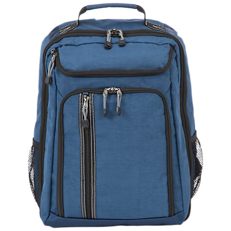 Buy Antler Urbanite Backpack, Navy Online at johnlewis.com