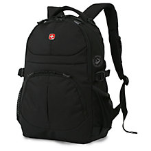 Buy Wenger 3001 Laptop Backpack, Black Online at johnlewis.com