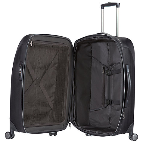 Buy Samsonite Tailor-Z Spinner 4 Wheel Medium Suitcase, Black Online at johnlewis.com