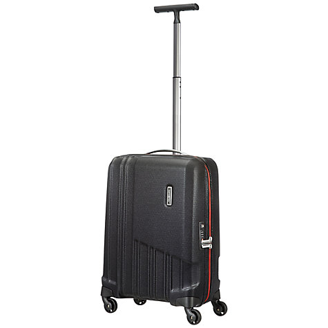 Buy Samsonite X-Pertiz Spinner 4 Wheel Cabin Suitcase, Black Online at johnlewis.com