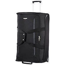 Buy Samsonite X'Blade Wheeled Duffle Bag, Black Online at johnlewis.com