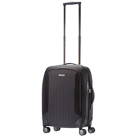 Buy Samsonite Tailor-Z Spinner 4 Wheel Cabin Suitcase, Black Online at johnlewis.com