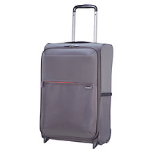 Buy Samsoninte Short-Lite 2-Wheel 50cm Cabin Suitcase, Blue Online at johnlewis.com