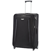 Buy Samsonite X'Blade 2-Wheel Expandable Large Suitcase, Black Online at johnlewis.com