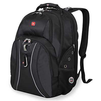 "Image of Wenger Scansmart 17"" Laptop and Tablet Backpack, Black"