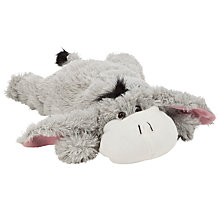 Buy Vagabond Donkey Fleece Hot Water Bottle, Grey Online at johnlewis.com