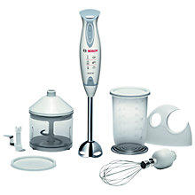 Buy Bosch MSM6700GB Hand Blender, White Online at johnlewis.com
