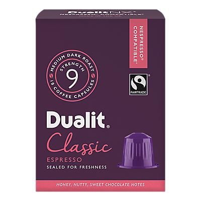Dualit 15701 Classic Espresso NX Capsules