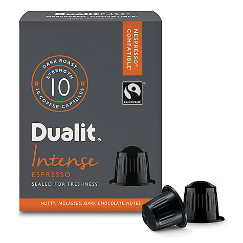 Buy Dualit 15700 Intense Espresso NX Capsules Online at johnlewis.com