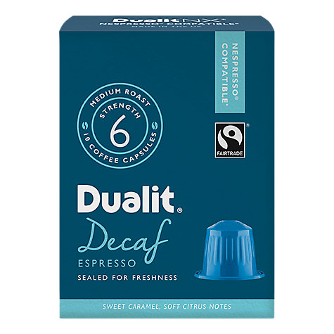 Buy Dualit 15704 Decaf Espresso NX Capsules Online at johnlewis.com