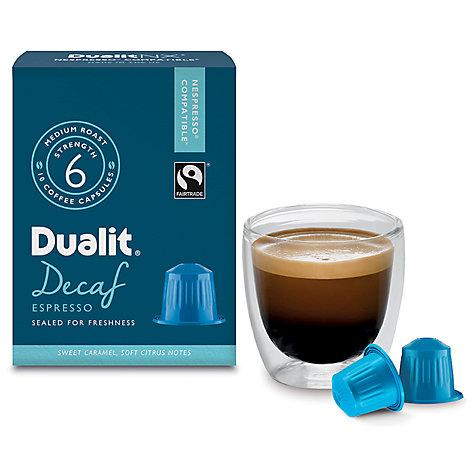 buy dualit decaf espresso nx capsules nespresso compatible john lewis. Black Bedroom Furniture Sets. Home Design Ideas