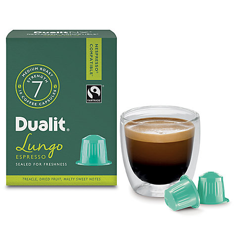 Buy Dualit Lungo Americano NX Capsules Online at johnlewis.com