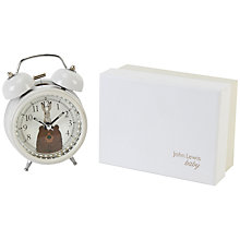 Buy John Lewis Bear & Hare Alarm Clock Online at johnlewis.com