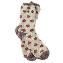 Buy Fat Face Spot Idaho Ankle Socks Online at johnlewis.com