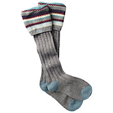 Buy Fat Face Striped Cuff Boot Socks Online at johnlewis.com