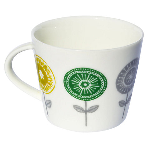 Buy Scion Lollipop Mug, 0.35L, Charcoal & Lime Online at johnlewis.com