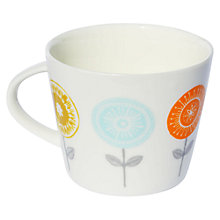 Buy Scion Lollipop Mug, 0.35L, Orange & Duck Egg Online at johnlewis.com