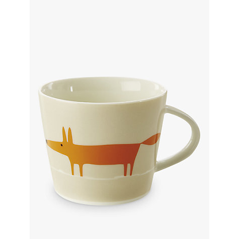 Buy Scion Mr Fox Mug, 0.35L, Orange Online at johnlewis.com
