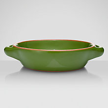 Buy John Lewis Al Fresco Shallow Tapas Dish, Green Online at johnlewis.com